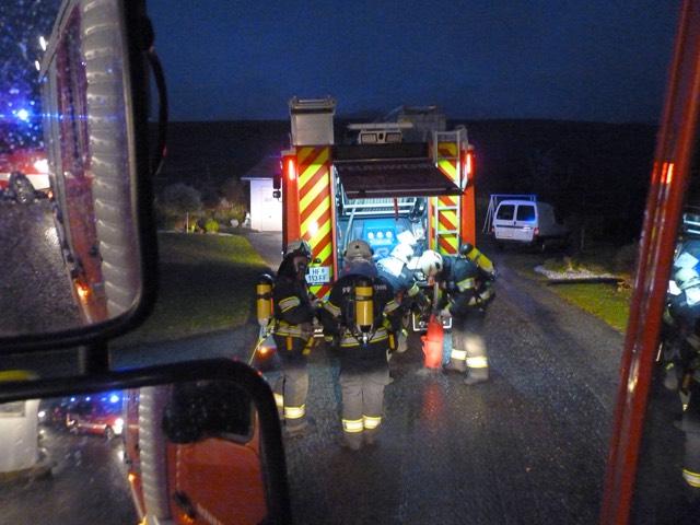 Feuerwehr Vorau - Brand in Puchegg
